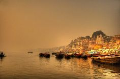 Locally called as Banaras, this city is popular for being located on the banks of the river Ganges. Ganges is the most sacred river to millions of Hindus living in the country. Rishikesh, Varanasi, The Places Youll Go, Places To Visit, Amazing India, India Tour, Future Travel, India Travel, Natural