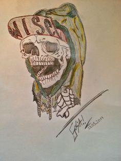 skull 2 tattoo