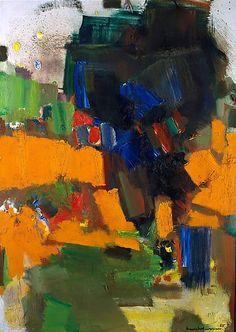 "cavetocanvas: "" Hans Hofmann, Deep Within the Ravine, 1965 """
