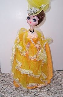 Bradley dolls... Did you have one? Yes She was green
