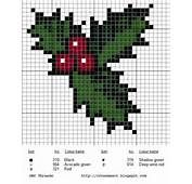 Cross Me Not Holly For Christmas cross stitch