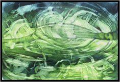 Faunus, Aquarell Gouache, Vienna, Landscape, Art, Watercolor Painting, Glow Paint, Abstract Art, Art Background, Scenery