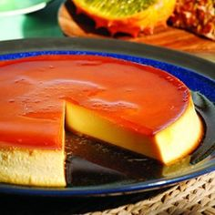 flan omg I had way too much in Europe! First it was flan! Then it was flan:( Brownie Desserts, Köstliche Desserts, Dessert Recipes, Healthy Desserts, Desserts Caramel, Custard Desserts, Healthy Recipes, Coconut Dessert, Oreo Dessert