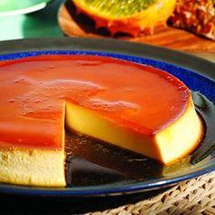 Caramel Cream Cheese Custard (Flan de Queso) - EatingWell.com