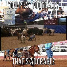 You Play Football? That's Adorable.