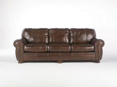 ashley furniture brown leather | Ashley Sofas & Accessories - Compare Prices on Ashley Furniture
