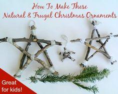 A Prepper Christmas: Twig Ornaments – MomPrepares
