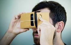 Virtual Reality wordt bereikbaar met Google Cardboard. Meer info: www.limegifts.nl