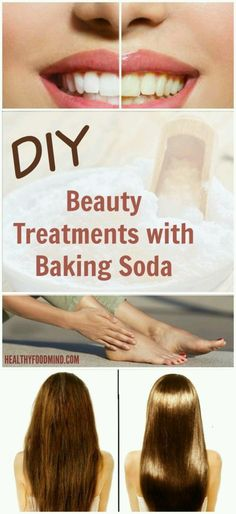 BEAUTY TREATMENTS WITH BAKING SODA | Fitness For Health