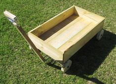 how to build a kids wagon