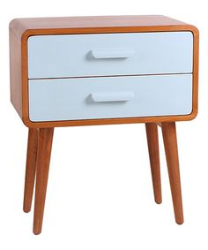 Another great find on #zulily! Aqua Emorie Mid-Century End Table #zulilyfinds