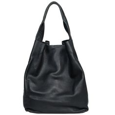 Christopher Kon Leather Tote (990 BRL) ❤ liked on Polyvore featuring bags, handbags, tote bags, accessories, bolsas, black, genuine leather tote, handbag purse, leather handbag tote and handbags totes