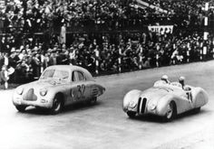 1937 BMW 328 Mille Miglia Bmw 328, Vintage Race Car, Car Makes, World War Ii, Race Cars, Auction, Profile, Black And White, History