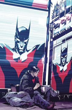 Batman Beyond The mystery of Neo-Gothams newest protector deepens! With Terry McGinnis missing, a new, unidentified person has stepped up to repl Batman Comic Art, Batman Comics, Dc Comics, Funny Batman, Batman Artwork, Batman Wallpaper, Batwoman, Nightwing, Batgirl