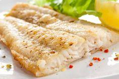 Peixe branco assado é um dos pratos para você comer a noite e não engordar