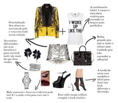 Silver star ⭐️ by sarahbsm on Polyvore featuring moda, Private Party, Roberto Cavalli, Isabel Marant, Calvin Klein Collection, David Yurman, Lanvin, Marc Jacobs, Silver and shorts