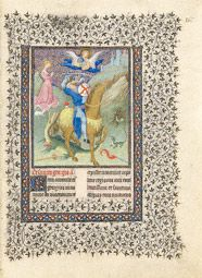 Saint George and the Dragon / Limbourg
