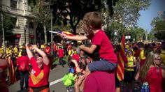 Sept 11th... Catalonia's National Day. Come to see this impressive civic demonstration in Barcelona.