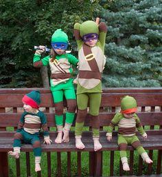TMNT family costume idea