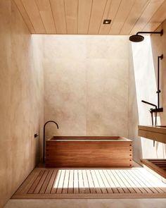 Badezimmer Inspiration Nobu Ryokan Malibu design interior un. Bad Inspiration, Bathroom Inspiration, Interior Inspiration, Bathroom Ideas, Bathroom Organization, Bathroom Designs, Bathroom Storage, Home Design, Art Design