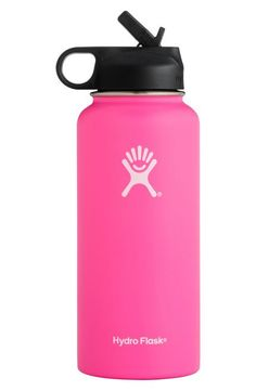 Hydro Flask Wide Mouth Bottle with Straw Lid Best Graduation Gifts, College Graduation, Hydro Flask Water Bottle, Cute Water Bottles, Food Storage Boxes, Drinking Fountain, Stainless Steel Types, Birthday Wishlist, Diy