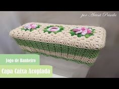 Crochet Doilies, Crochet Hats, Bathroom Ensembles, Crochet Designs, Room Set, Stitch, Crafts, Youtube, Knitted Rug