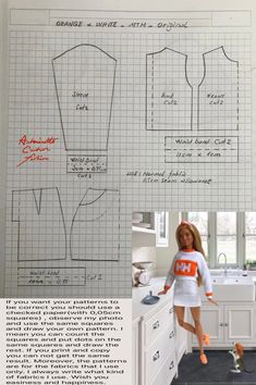 Sewing Barbie Clothes, Barbie Sewing Patterns, Barbie Dolls Diy, Doll Dress Patterns, Barbie Dress, Clothing Patterns, Diy Clothes, Made To Move Barbie, Crochet Doll Dress