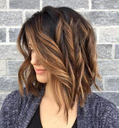 Caramel Highlights For Brunette Hair
