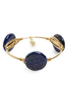 Bourbon and Boweties Marbled Stone Bracelet