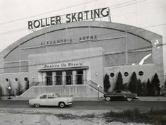The Alexandria roller rink, also known as the Alexandria Arena, opened on November 23, 1948, at the corner of Madison and North St. Description from usarsarollerskaters.org. I searched for this on bing.com/images