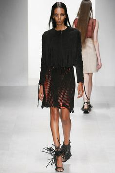 Grace Mahary Photos Spring 2013 Ready-to-Wear Marios Schwab - Runway on Style.com