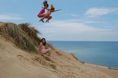 Indiana Sand Dunes State Park and the water is warm...
