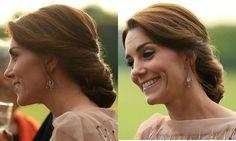 Kate Middleton's most glamorous updos