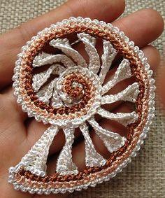 Вязание , ирландское кружево, элементы для вязания. Вязание крючком #вязание #вязаниекрючком