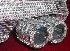 Swarovski crystal-covered car!