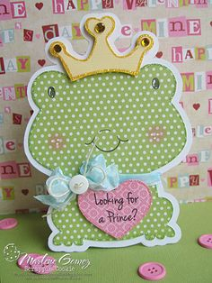 Scrappin Cookie: My Craft Spot Monday Challenge #82 - Looking for a Prince?
