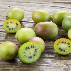 Kiwi Berries are so stackable :: Search by flavors, find similar varieties and discover new uses for ingredients @ preppings.com