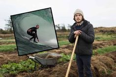 Meet the Mayo man who swapped pro surfing for organic farming -