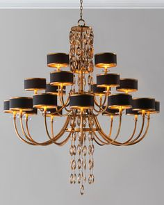 Black Tie 21-Light Chandelier by John-Richard Collection at Neiman Marcus.