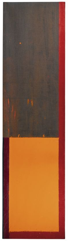 John Hoyland, R.A. 1934-2011 28.4.68 signed, titled and inscribed on the stretcher bar, acrylic on canvas