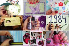 Esmalte e Artesanato, Nail Polish, Arts and Crafts,    http://www.fernandareali.com/2011/07/esmalte-e-artesanato-mostre-sua-arte.html