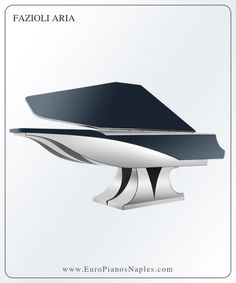 Fazioli Aria - modern futuristic piano by NYT Line. Enjoy stunning view of the extraordinary modern piano, which you can buy at Euro Pianos Naples in Florida Luxury Home Decor, Luxury Homes, Art Case, Grand Piano, Guitar Design, Deco Furniture, Stunning View, Unique Art, Futuristic