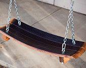Napa Valley Wine Barrel Swing