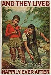 Amazon.com: vintage fishing decor