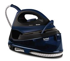 Product Features Fast set-up once switched on, your product needs only 2 minutes to be ready and deliver steam. Easy and safe transport and locks easily for safe transport. An easy glide ceramic soleplate for enhanced gliding. Steam Generator Iron, Cord Storage, Steam Iron, Energy Use, Water Tank, Storage Solutions, Asda, Weapon, Locks