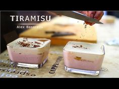 Tiramisu Racoritor De Vara | Alex Basaraba - YouTube No Cook Desserts, Tiramisu, Panna Cotta, Deserts, Make It Yourself, Cooking, Ethnic Recipes, Youtube, Food