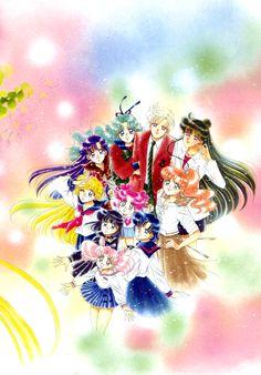 美少女戦士セーラームーン原画集 Bishoujo Senshi Sailor Moon Original Picture Collection vol.5 - by Naoko Takeuchi