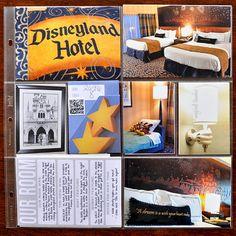 Disneyland Hotel - Scrapbook.com