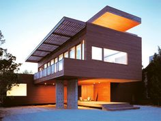 Jersey Beach House by Christoff Finio   Duratherm Windows and doors