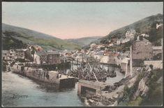 Polperro, Cornwall, c.1905-10 - Frith Postcard